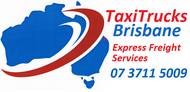 Taxi Trucks Sticky Logo